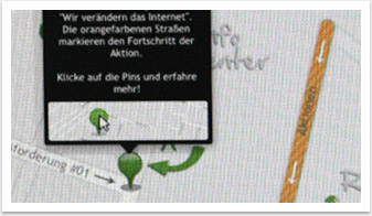 Quicker-Website von bgp e.media