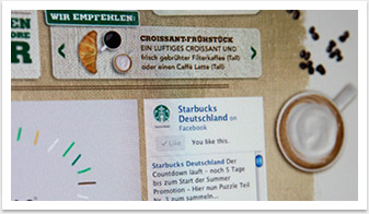 Webspezial Aktions-Microsite für Good Morning Starbucks by bgp e.media - Teaser Detail