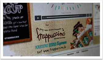 Webspezial Aktions-Microsite für Good Morning Starbucks by bgp e.media - Grafik