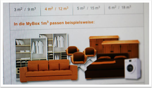 B2C Website in CMS e.sy Webdesign für My Box by bgp e.media - Beispiele