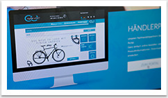 Webdesign im e.sy CMS für Cycle Union by bgp e.media - Teaserdetail
