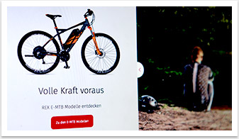 rex bike website slider by bgp.emedia