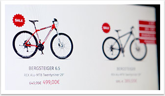 rex bike website stoerer by bgp.emedia